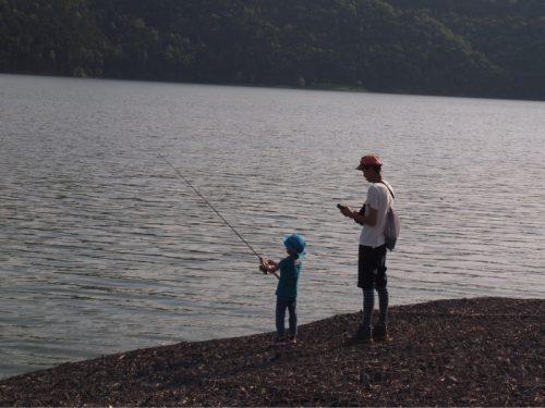 釣リベンジ!滝里湖オートキャンプ場②